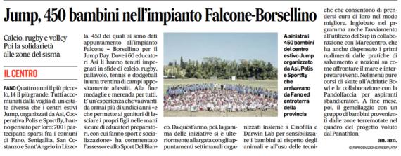 Jump Day, in 450 al Falcone Borsellino by Corriere della sera