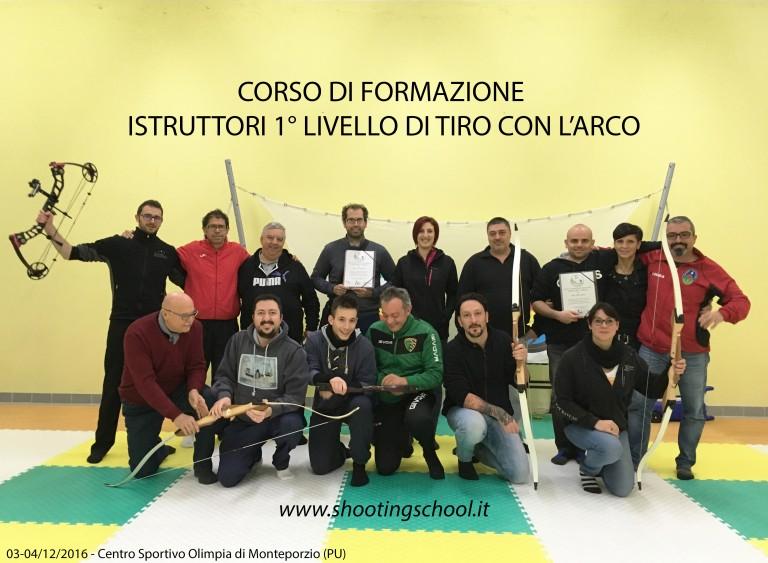 A Monte Porzio arcieri di tutta Italia per il corso di formazione di 1° livello