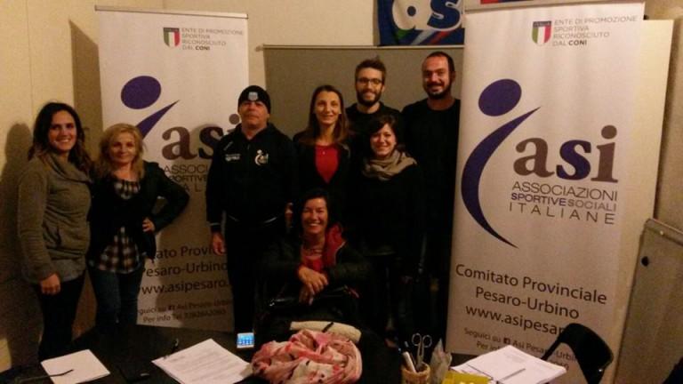 Rinnovo cariche sociali in casa Asi Pesaro: Francesca Petrini riconfermata presidente