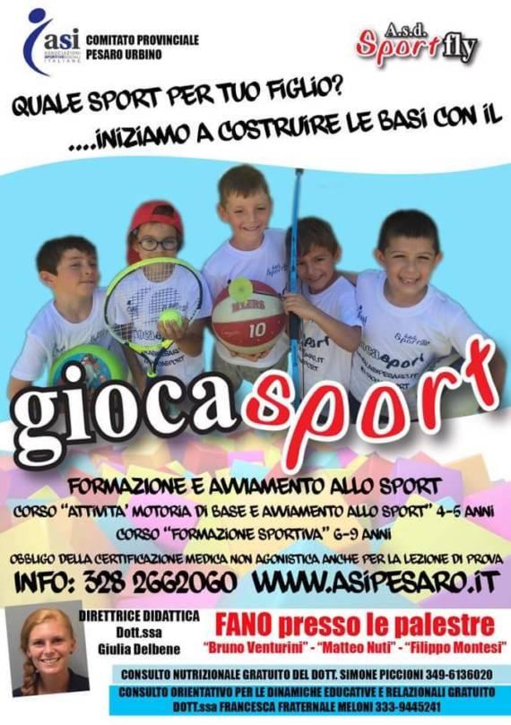 Anche Fano ha le sue olimpiadi: torna a settembre il Giocasport