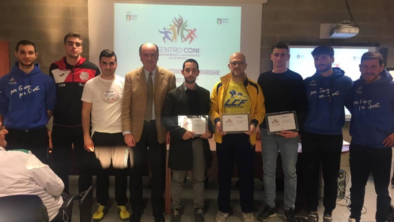 La Sportfly premiata dal CONI Marche