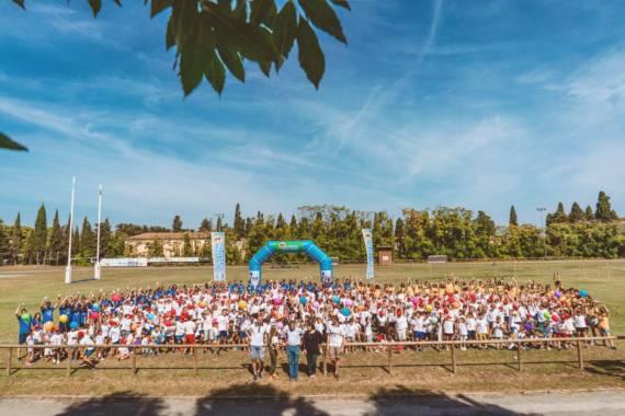 JUMP DAY – La carica dei 615 bambini POLIS al campo da rugby
