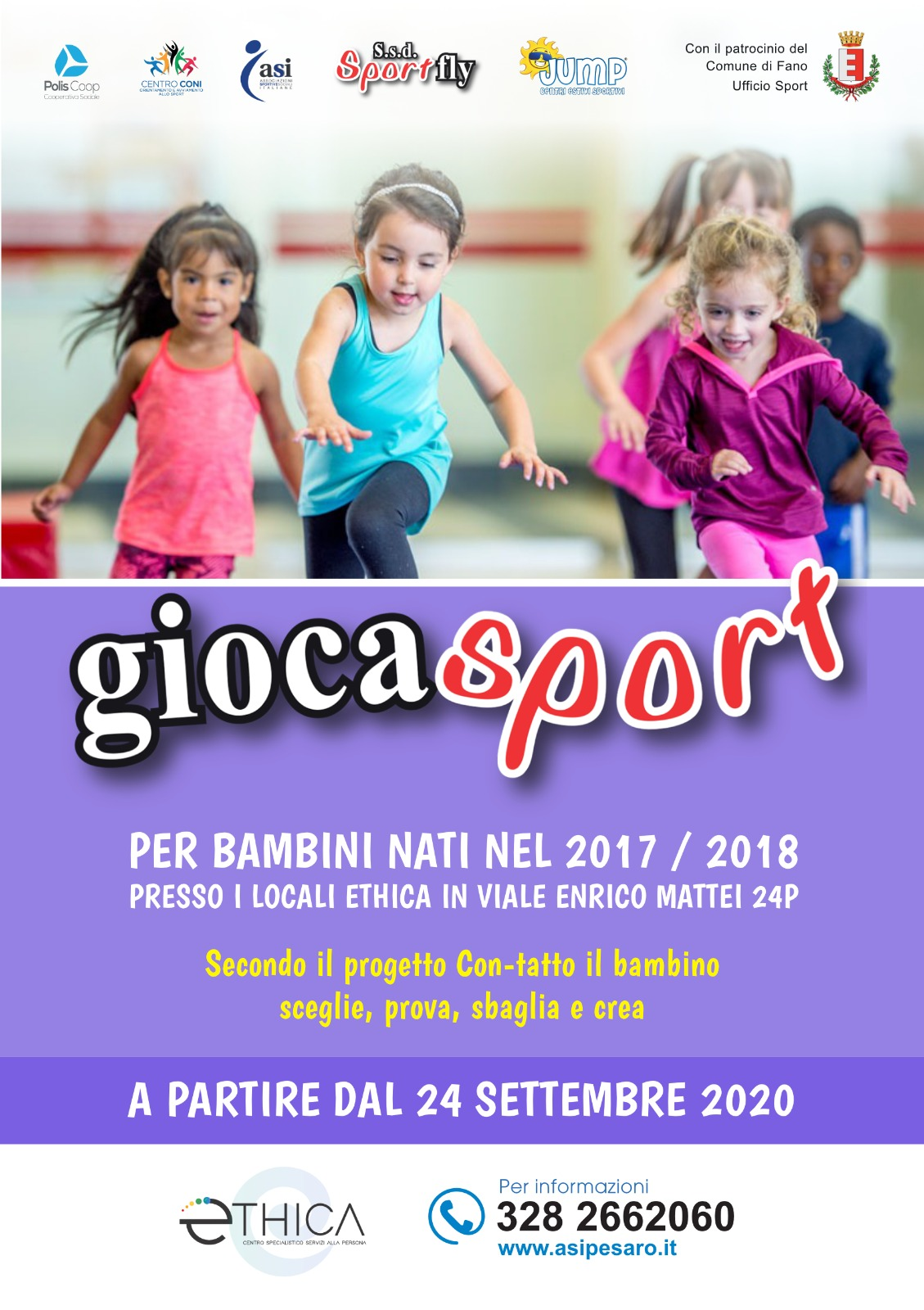 """Giocasport – Progetto """"Con-Tatto"""""""