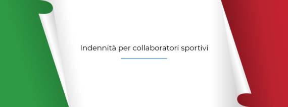 Collaboratori Sportivi – Confermato il bonus anche per dicembre