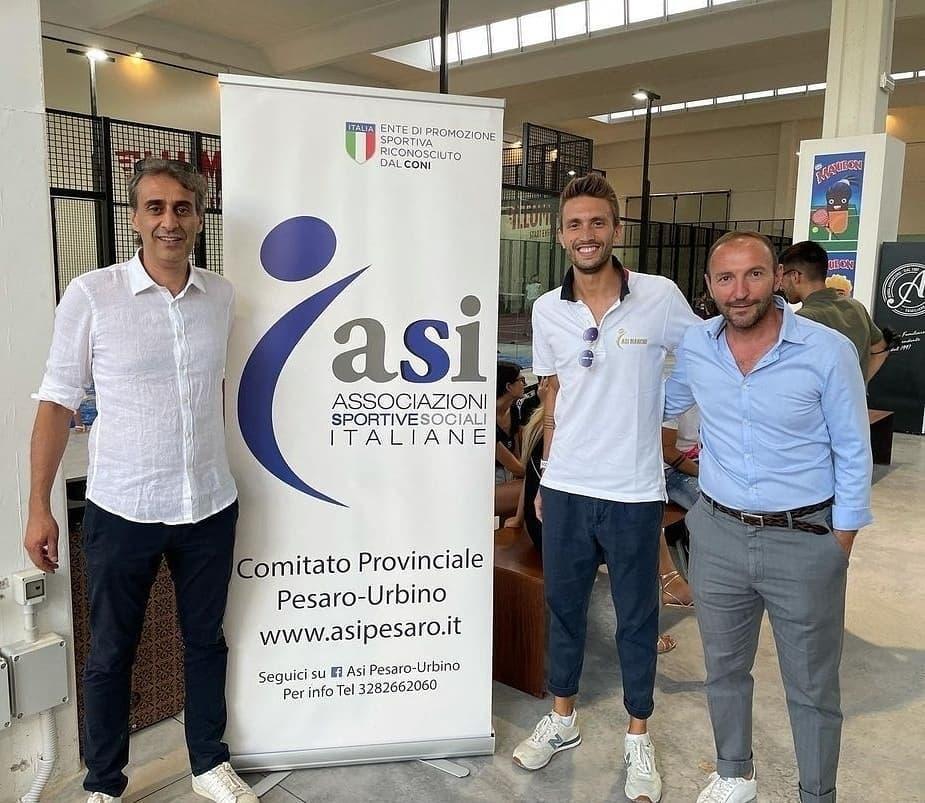 ASI Comitato Regionale Marche presente all'inaugurazione del Centro Padel di Acqualagna